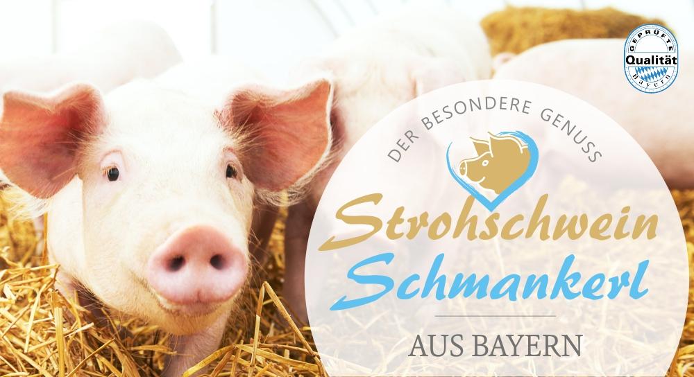 Strohschwein Fleisch aus Bayern